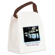 The Lake is Calling and I Must Go Canvas Lunch Bag