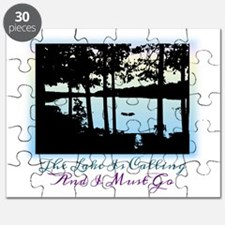 The Lake is Calling and I Must Go Puzzle