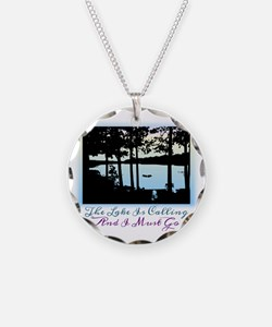 The Lake is Calling and I Mu Necklace