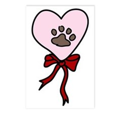 Heart Dog Postcards (Package of 8)