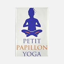 Petit Papillon Yoga Logo Rectangle Magnet