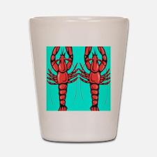 Crayfish Shot Glass