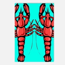 Crayfish Postcards (Package of 8)