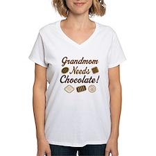 Grandmom Chocolate Shirt