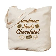 Grandmom Chocolate Tote Bag