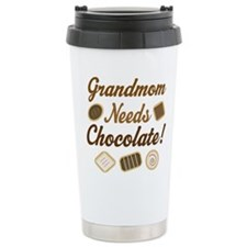 Grandmom Chocolate Travel Mug