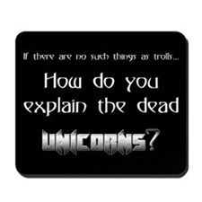 Dead Unicorns Mousepad