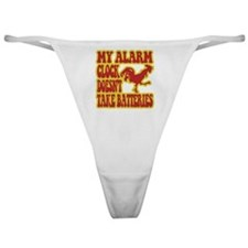 Rooster Alarm Clock Classic Thong