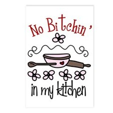 No Bitchin' in My Kitchen Postcards (Package of 8)