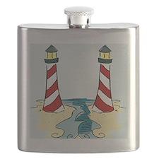 Jersey Lighthouse Flask