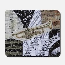 0375-sq-trumpet Mousepad