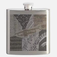 0375-sq-trumpet Flask