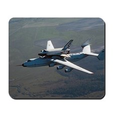Buran space shuttle and carrier, 1989 Mousepad