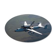 Buran space shuttle and carr Wall Decal