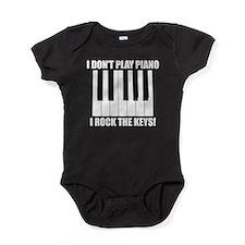I Rock The Keys Baby Bodysuit
