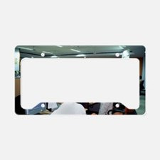 Call centre License Plate Holder