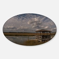 001-Cloudy Dock Decal