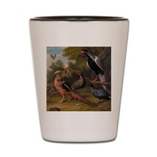 Pheasant And Birds Shot Glass