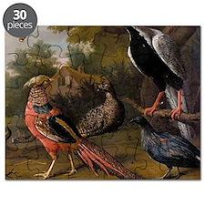 Pheasant And Birds Puzzle