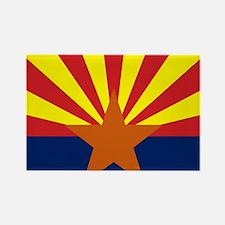 Arizona State Flag Rectangle Magnet