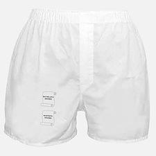 Marriage Degrees Boxer Shorts