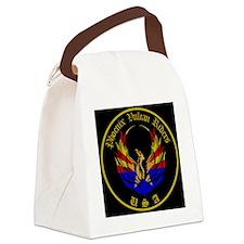 Main logo Canvas Lunch Bag