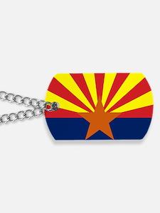 Arizona State Flag Dog Tags