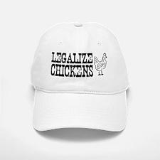 Legalize Chickens hat Baseball Baseball Cap