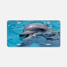 Bottlenose dolphin Aluminum License Plate