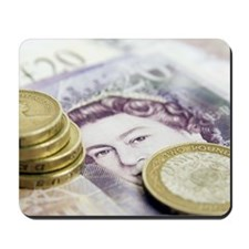 British currency Mousepad