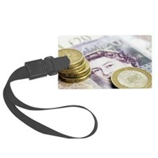 British currency Luggage Tag
