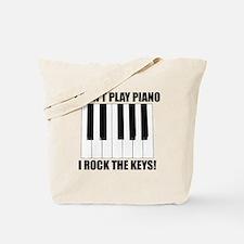 I Rock The Keys Tote Bag