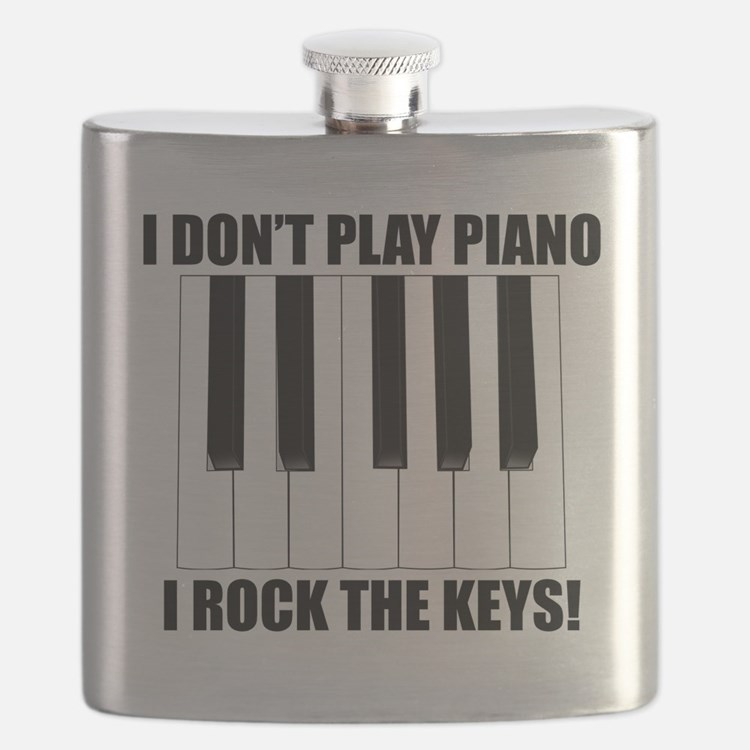 I Rock The Keys Flask