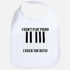 I Rock The Keys Bib