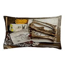 Camptosaurus bones Pillow Case