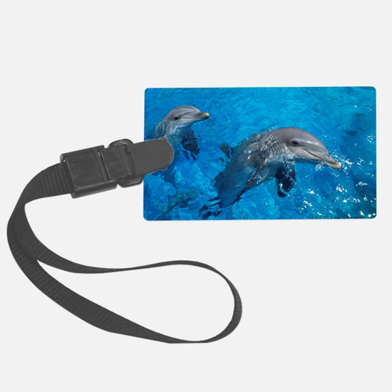 Bottlenose dolphins Luggage Tag