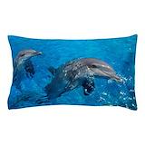 Bottlenose dolphin Pillow Cases