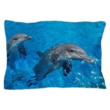 Bottlenose dolphins Pillow Case