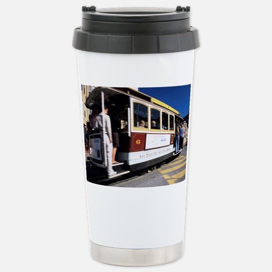 Cable car Stainless Steel Travel Mug