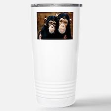 Chimpanzees Stainless Steel Travel Mug