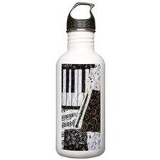 0505-charger-oboe Water Bottle