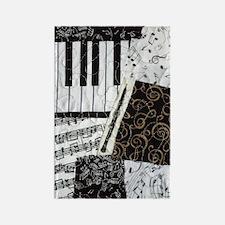 0505-ipadhard-oboe Rectangle Magnet