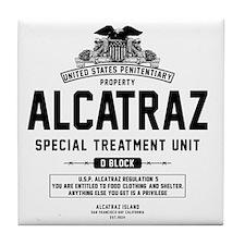 Alcatraz S.T.U. Tile Coaster