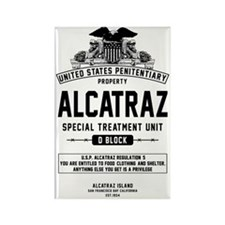 Alcatraz S.T.U. Rectangle Magnet