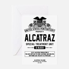 Alcatraz S.T.U. Greeting Card