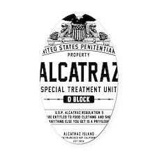 Alcatraz S.T.U. Oval Car Magnet
