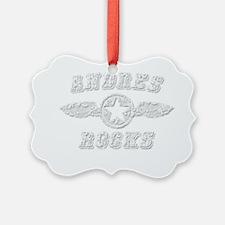 ANDRES ROCKS Ornament