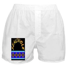 SEMINOLE INDIAN PATCHWORK Boxer Shorts