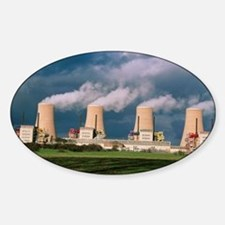 Chapelcross Nuclear Power Station,  Sticker (Oval)