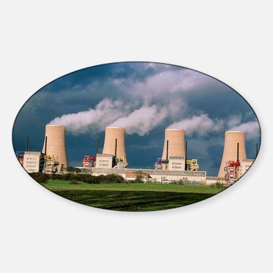 Chapelcross Nuclear Power Station,  Sticker (Oval)